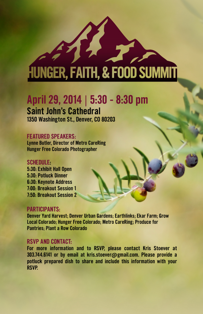 faithandfoodsummit flyer