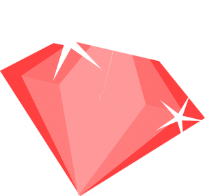 Red Rubyish Diamond